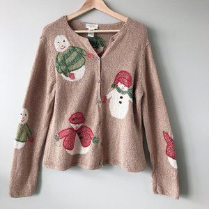 Ugly Christmas knit sweater Large